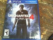 SONY Sony PlayStation 4 Game UNCHARTED 4 - A THIEF'S END - PS4